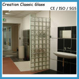 Duidelijke of Gekleurde het blok-Glas van het Glas Baksteen voor de Bouw van Glas