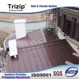 2017熱い販売の金属の屋根シート、チタニウム亜鉛屋根ふきシート