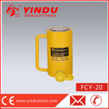 Movimiento de 20 toneladas de largo gato hydráulico (FCY-20)
