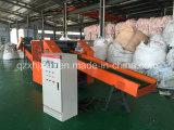 O profissional veste a máquina do cortador/a máquina estaca de Rags/cortador da fibra