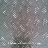 Plaque gravée en relief/feuille d'acier inoxydable de 200 séries