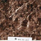 Yingcai 1m Gele Gouden Marmeren Vloeibare Film van Af:drukken