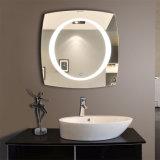 El hotel iluminó el espejo del cuarto de baño con el espejo de vanidad encendido cabina ligera del LED LED con la luz