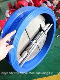 Gummidichtungs-Oblate-Doppelplatten-Rückschlagventil