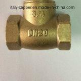 Valvola di globo d'ottone certificata ISO9001 (AV4004)
