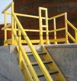 FRP/GRP Pultruded Structurele Vormen met hoge weerstand, Kanaal FRP