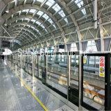 يصنع فولاذ - يشكّل حظائر إلى مترو, محطّة سكّة الحديد, [كربورت] باطنيّة, مطار