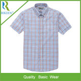 Cotton Polyester Woven Casual Shirt людей, Dress Shirt, Shirt для Men