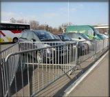 Barriera provvisoria galvanizzata di traffico