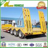 De lage Oplegger van de Vrachtwagen van het Dek van de Daling van de Lader met Capaciteit 70tons