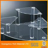Freie Bildschirmanzeige-Zahnstange des Acryl-Display/PMMA/Plastikstandplatz-Acrylbildschirmanzeige-Halter