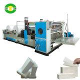 Toalla de mano de papel plegable de alta velocidad de la laminación Z del pegamento que hace la máquina