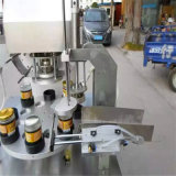 양철 깡통, 플라스틱 관을%s 회전하는 유형 자동적인 밀봉 기계