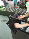 Afficheur LED d'intérieur de Gloshine Curveable Lm3.91 avec la maintenance avant