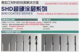 Cortador revestido del diamante para el metal duro de la aleación del Silion-Aluminio