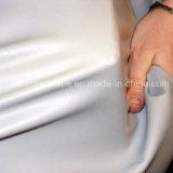 Cara reflexiva del doble de la tela de estiramiento para el desgaste que activa