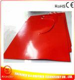 1100 * 1100 * 1.5mm Imprimante chauffe-machine Chauffe-caoutchouc silicone