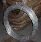 Fil galvanisé de fer de matériau de construction/fil obligatoire galvanisé par Bwg20-22 pour la construction