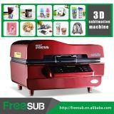 Freesub todo em uma máquina da imprensa do calor do Sublimation da caixa do telefone da caneca 3D