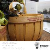 Hongdao는 크기 판매 도매 - E를 위한 고리 버들 세공 픽크닉 바구니를 주문을 받아서 만들었다
