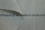 Algodão tingido fio/tela poli/rayon, listrada, 230GSM