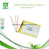 pilas de batería de Lipo de la batería del polímero de 3.7V 2900mAh