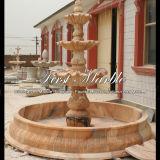Фонтан Mf-181 Ny мраморный каменного гранита напольный красный