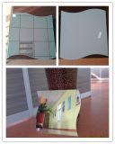Color de la parte posterior del espejo de la seguridad/del espejo del sitio de ducha/del espejo de la pared gris o verde
