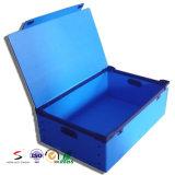 운반물 PP 쌓을수 있는 콘테이너를 겹쳐 쌓이는 물결 모양 플라스틱 저장 상자