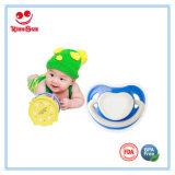 Nahrungsmittelgrad-neugeborener Baby-Friedensstifter mit rundem Soother