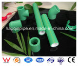Pipe verte de PPR pour l'offre d'eau chaude
