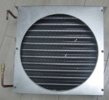 Serpentin d'évaporateur à ailettes en aluminium de tube de cuivre pour le réfrigérateur