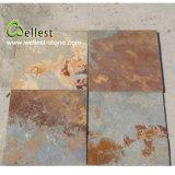 Ardesia ingranata arrugginita naturale personalizzata fabbrica per la pavimentazione del pavimento esterno