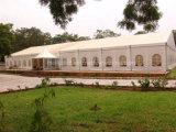نيجيريا استعمل عرس فسطاط خيمة مع زجاجيّة [بغدا] مدخل