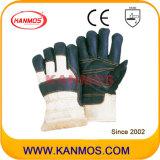De donkere Handschoenen van het Werk van de Bedrijfsveiligheid van de Winter van het Leer van het Meubilair (31302)