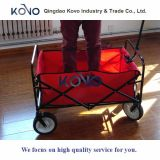 Wagon Utility Cart Folding Portable Kids Criança Grande Blue Wheeled Outdoor Toy