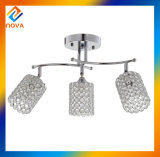 Канделябр просто конструкции кристаллический для потолочной лампы столовой
