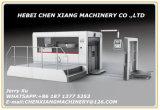 Máquina vincando cortando semiautomática da venda quente