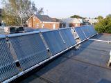 Система солнечных коллекторов для общественных мест