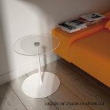 Vector moderno simple de la oficina de la mesa de centro de la placa redonda de acero de Uispair el 100%