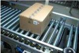 Piegare il trasportatore a rulli d'acciaio per la linea di produzione