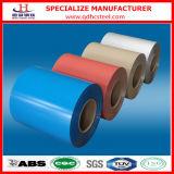 A cor de PPGI revestida Pre-Painted bobinas de aço galvanizadas