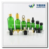 huile essentielle Glass Dropper Bottle de 5ml 10ml 15ml 20ml 25ml 30ml 50ml 100ml Green