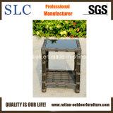 Mobilia esterna di vimini sintetica del blocco per grafici di alluminio (SC-B8955)