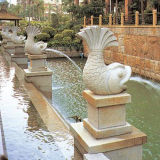 Water esterno Fountain per il giardino Stone Decoration