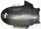 Parte posterior Hugger de la fibra del carbón con el protector de cadena para Ducati 900ss