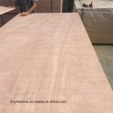 Contre-plaqué commercial de faisceau de peuplier de la feuille 18mm pour des matériaux de construction