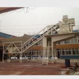 planta de mistura/de tratamento por lotes do concreto móvel automático da tecnologia 50m3/H original