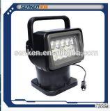 12V/24V brillante rotación y luz teledirigida 130L de IP65 de la búsqueda del LED