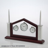 ハンドメイドの特別な方法クラフトの木の置時計A6042